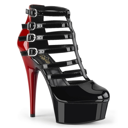 delight 695 black red patent black