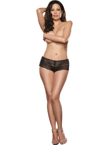 VAVOOM Women's Panties - Soft Lace Boyshort