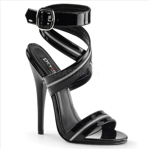 high stiletto heel wrap around straps sandals
