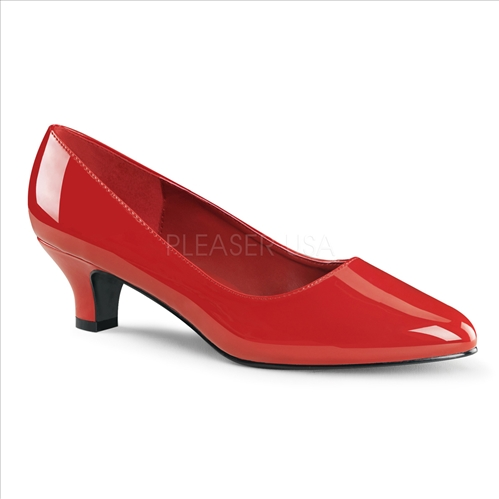 Red Patent Leather Business Women Shoes