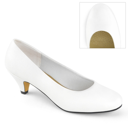 fefe 01 white faux leather