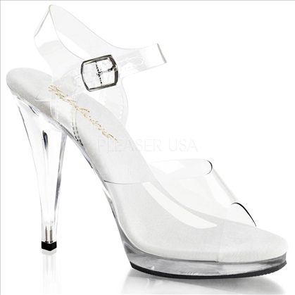 Fitness Competition Posing Shoes 4-5 Inch Heel