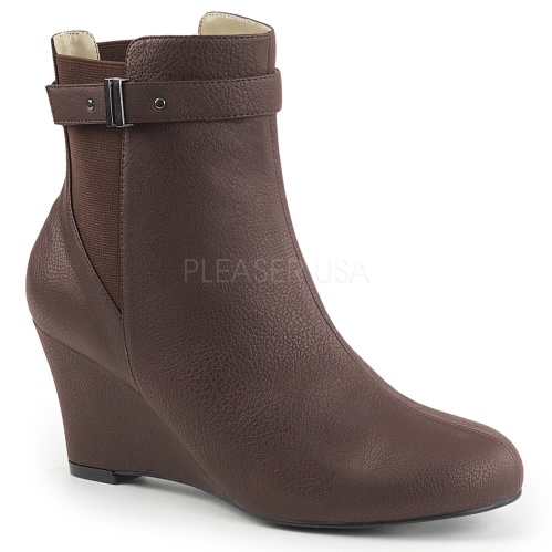 Pleaser Womens Boots Leather
