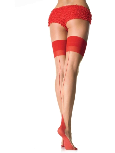 Stockings Cuban Heel Thigh Highs