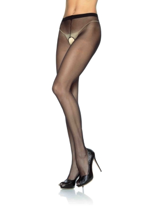 Stockings Nylon Crotchless  Pantyhose