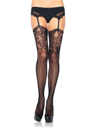 Stockings Net & Lace Thigh High