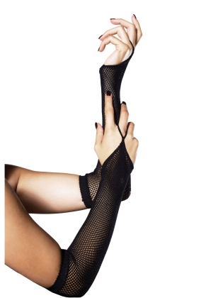 Accessories Fishnet Arm Warmers