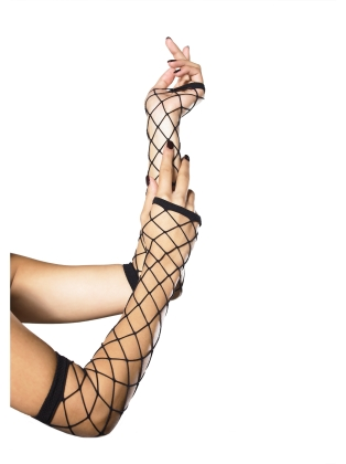 Accessories Fingerless Industrial Net Gloves