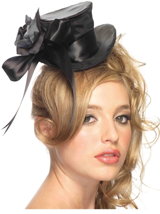 Accessories Satin Top Hat