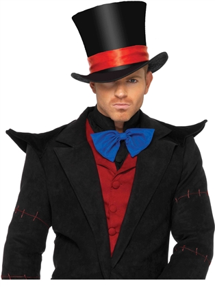 Costume Accessories Deluxe Men's Velvet Hat