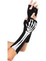 Costume Accessories Skeleton Gloves