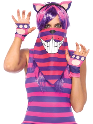Costume Accessories Cheshire Cat Bandana