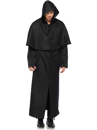 Costume Accessories Men's Hooded Cloak