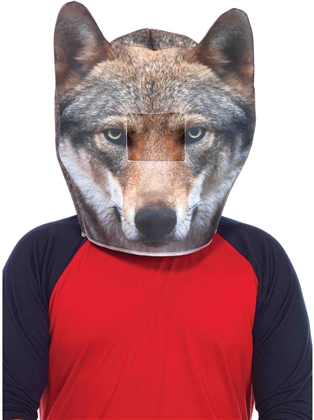 Costume Accessories Foam Wolf Mask