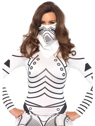 Costume Accessories Evil Robot Bandana