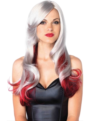 Costume Accessories Multi Color Wavy Wig