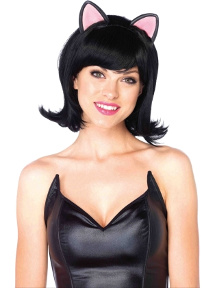 Costume Accessories Kitty Kat Bob Wig