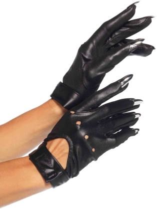 Costume Accessories Claw Motorcycle Gloves