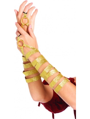 Costume Accessories Golden Arm Wraps