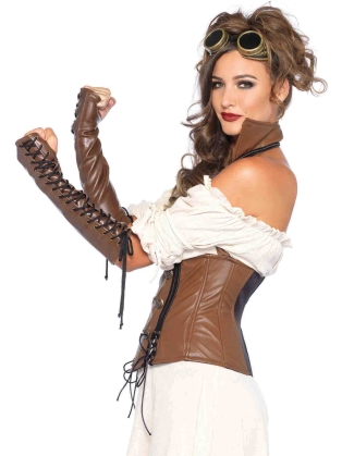 Costume Accessories Lace-up Arm Warmers