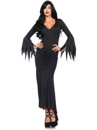 Dance Wear Long Gothic Dress
