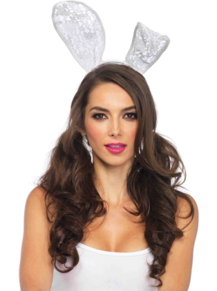 Costume Accessories Lace Bunny Ears