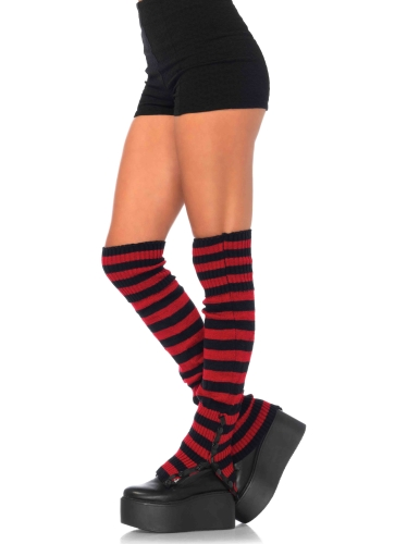 Stockings Stripped Extra Long Leg Warmers