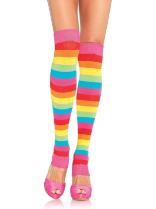 Stockings Rainbow Leg Warmers