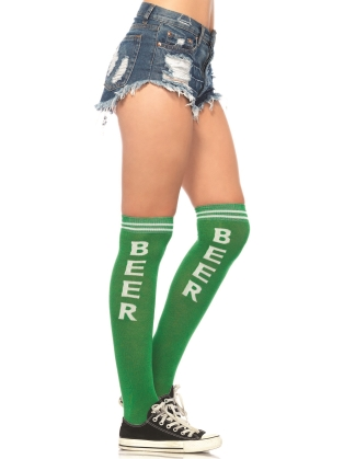 Stockings Beer Time acrylic athletic socks