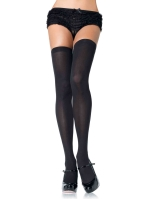 Stockings Opaque nylon thigh highs