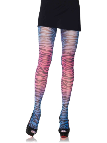 Stockings Rainbow Zebra Tights