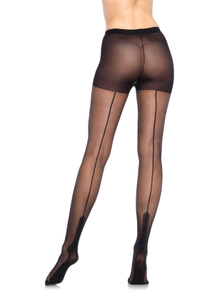 Stockings Lycra Havana Heel Pantyhose