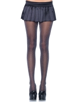 Stockings Zig zag lurex spandex sheer tights