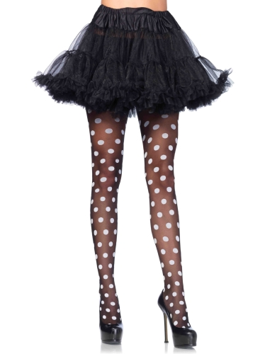 Stockings Sheer polka dot pantyhose