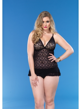Lingerie Lace Chemmies & ruffle skirt