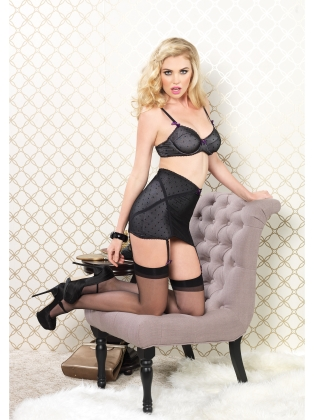 Lingerie High Waisted Girdle Skirt