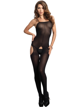 Stockings Opaque Suspender Bodystocking