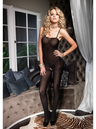 Stockings Spaghetti Strap BodyStocking