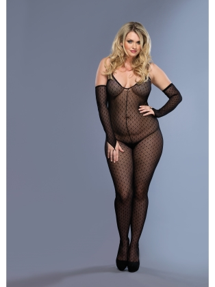 Stockings Mini Daisy Lace Bodystocking