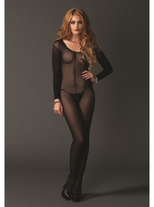 Stockings Sheer Long Sleeves Bodystocking