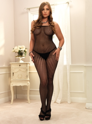 Stockings Seamless Crochet Bodystocking