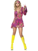 Costumes Retro Go Go Dress