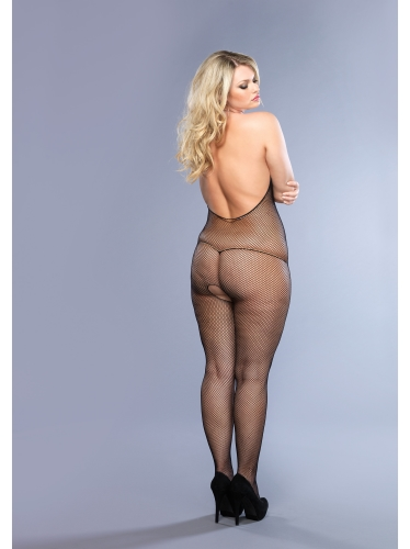 Stockings Fishnet Halter Bodystockings