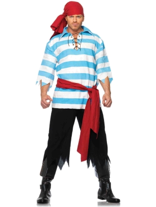 Costumes Pillaging Pirate Men's