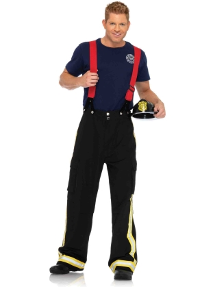 Costumes Fire Captain Men's