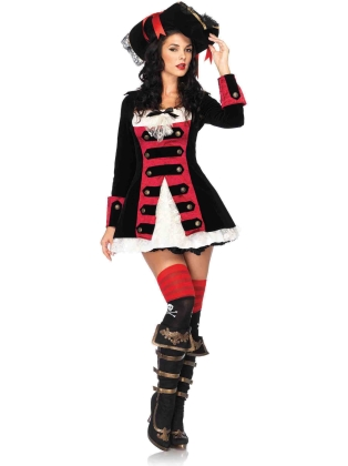 Costumes Charming pirate captain