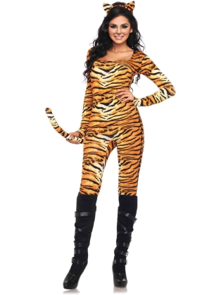 Costumes Wild tigress catsuit