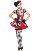 Costumes Lake Avenue Harlequin clown