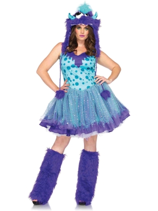 Costumes Polka Dotty Dress