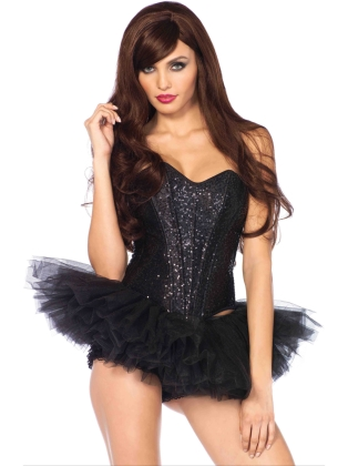 Fashion Accessories Sexy Sequin Corset